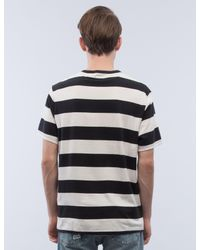 Levi's - Black Stripe Faded Sunset Pocket S/s T-shirt for Men - Lyst