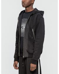 McQ - Black Three Zip Hoodie for Men - Lyst