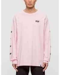 Huf - Pink Panther X Heads L/s T-shirt for Men - Lyst
