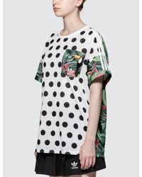 Adidas Originals - Multicolor T-shirt - Lyst