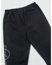 Marcelo Burlon - Black Talca Pants for Men - Lyst