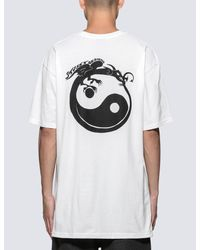 Stussy - White Revolution T-shirt for Men - Lyst