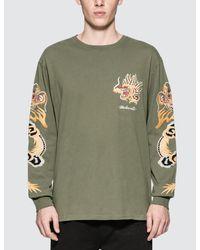 Maharishi | Green Golden L/s T-shirt for Men | Lyst