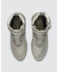 Filling Pieces | Green Mid Altitude Heel Cap Tech Sneaker for Men | Lyst