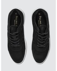 Filling Pieces - Black Low Plasma Heel Cap Sneaker for Men - Lyst