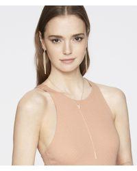 Henri Bendel - Metallic Luxe Bali Fine Lines Tassel Earring - Lyst
