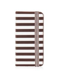 Henri Bendel - Black Dalton Centennial Stripe Case For Iphone 6/6s Plus - Lyst