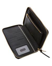 Henri Bendel - Black Turn Key Xl Zip Around Wallet - Lyst