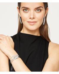 Henri Bendel | Metallic Luxe Elements Plaque Hinged Bracelet | Lyst