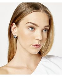 Henri Bendel - Multicolor Bendel Rocks Huggy Hoop Earring - Lyst