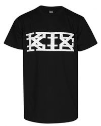 KTZ - Graphic Rubber Spiked Print Black for Men - Lyst