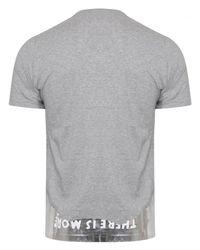 Maison Margiela - Gray Aids Awareness Charity T-shirt Grey for Men - Lyst