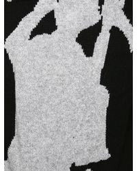 Yohji Yamamoto   Knitted Samurai Jumper Black for Men   Lyst