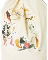 Claire Barrow - Multicolor Graphic Gym Knapsack - Lyst