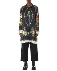 By Walid - Multicolor 'martha' Floral Silk Jacket - Lyst
