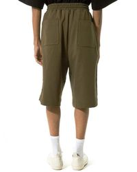 Juun.J - Green Embroidered Shorts for Men - Lyst