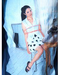 Christian Dada - Blue Nobuyoshi Araki Photograph Tee for Men - Lyst