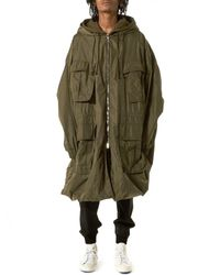 Juun.J | Green Deconstructed Parachute Jacket for Men | Lyst