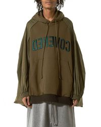 Juun.J | Green Dual-fabric Parachute Jacket for Men | Lyst