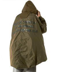 Juun.J | Green Dual-fabric Parachute Jacket for Men | Lyst