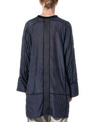 Di Liborio - Blue Lace-stitch Nightgown - Lyst