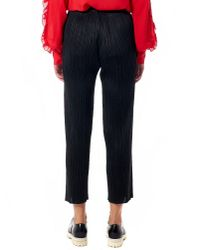 Issey Miyake | Black Pleated Trouser | Lyst
