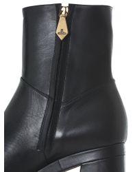 Vivienne Westwood - Black Zipped Platform Boots - Lyst
