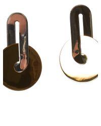 Uncommon Matters - Metallic Disced Earrings - Lyst