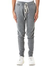 Fear Of God Gray Weighted Track Pants for men