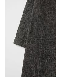 H&M - Gray Long Coat - Lyst