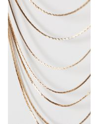 H&M - Metallic Multi-strand Necklace - Lyst