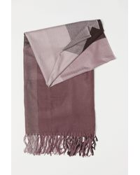 H&M - Multicolor Large Scarf - Lyst