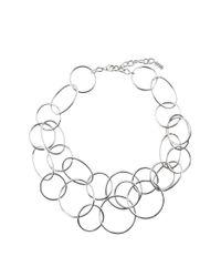 Hobbs | Metallic Anna Necklace | Lyst