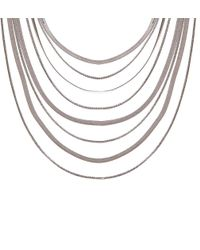 Hobbs - Metallic Patsy Necklace - Lyst