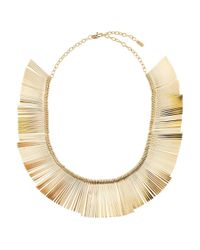 Hobbs   Metallic Abbie Necklace   Lyst