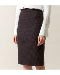 Hobbs - Black Celina Skirt - Lyst