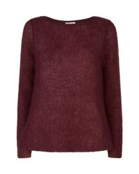 Hobbs   Purple Molly Sweater   Lyst