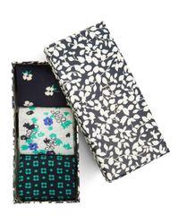 Hobbs - Green Flower Sockset - Lyst