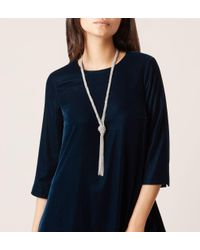 Hobbs | Metallic Farrah Necklace | Lyst
