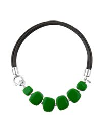 Hobbs - Bright Green 'naomi' Necklace - Lyst