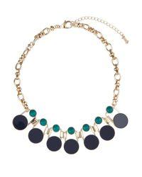 Hobbs - Blue Tilda Necklace - Lyst