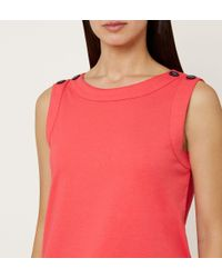 Hobbs - Pink Maddy Vest - Lyst