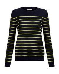 Hobbs - Blue Navy 'sienna' Sweater - Lyst