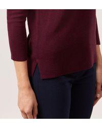 Hobbs - Purple Maroon 'cesci' Sweater - Lyst