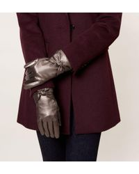 Hobbs - Multicolor Verity Bow Glove - Lyst