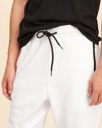 Hollister - White Taper Fit Mesh Shorts for Men - Lyst