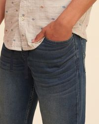 Hollister Blue Jogger Pants for men