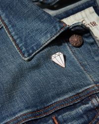 Hollister - White Valley Cruise Press Pin - Lyst