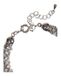 Mikey - White Rope Bracelet - Lyst