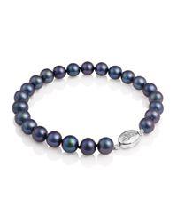 Jersey Pearl | Black Pearl Bracelet | Lyst